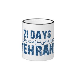 21 days Tehran Mugs
