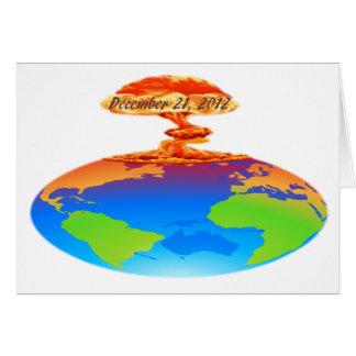 21 de diciembre de 2012 tarjeta de felicitación