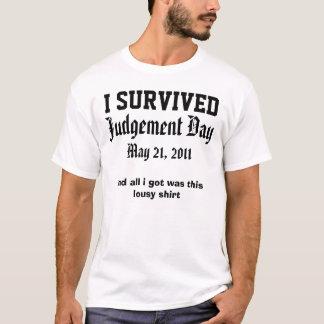 21 de mayo camisa del día del Juicio Final del