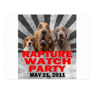 21 de mayo de 2011 camisa del fiesta del reloj del postal