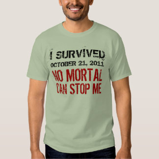 21 de octubre de 2011 ningún Mortal puede pararme Playeras