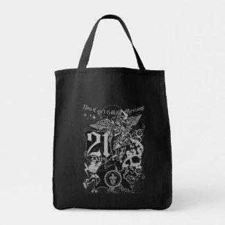 21 días bolsas lienzo