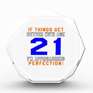 21 diseños del cumpleaños de la perfección