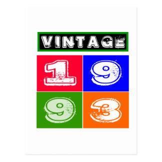 21 diseños del cumpleaños postales
