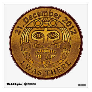 21. En diciembre de 2012 - día del juicio final -  Vinilo Decorativo