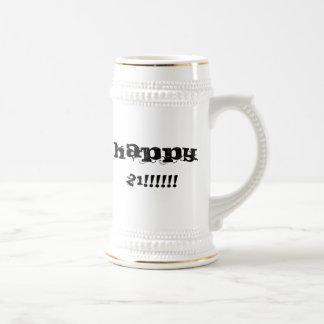 21 felices jarra de cerveza