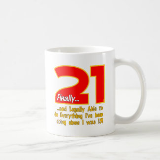 21 Finally Coffee Mug