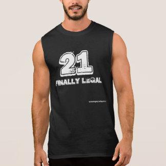 21 Finally Legal Sleeveless T-shirt