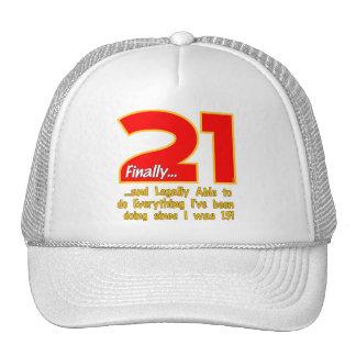 21 finalmente gorras de camionero