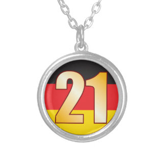 21 GERMANY Gold Silver Plated Necklace