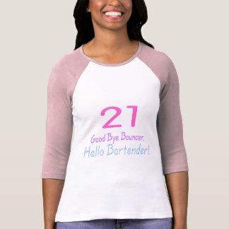 21 Good Bye Bouncer Hello Bartender (Color) Dresses