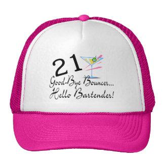 21 Good Bye Bouncer Hello Bartender Trucker Hat