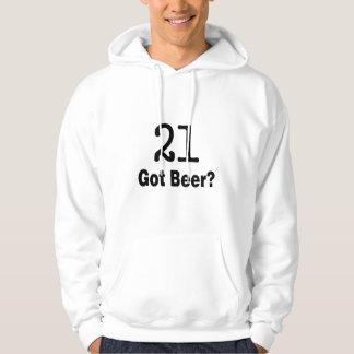 21 Got Beer Hoodie