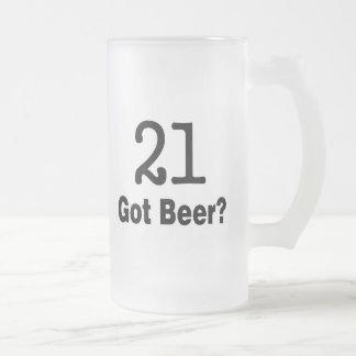 21 Got Beer Mug