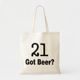 21 Got Beer Tote Bag