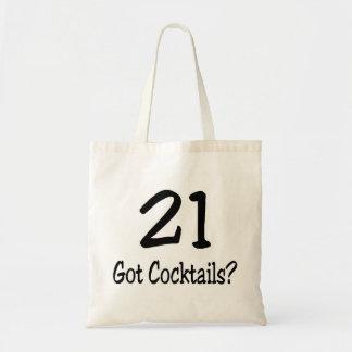 21 Got Cocktails Bag