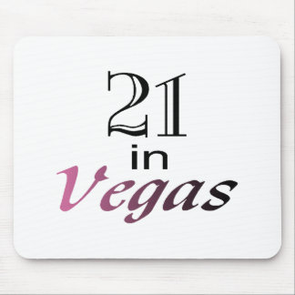 21 In Vegas (pink) Mouse Pad