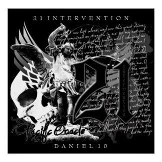 21 Intervention Canvas Poster