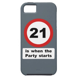 21 is when the Party Starts iPhone SE/5/5s Case