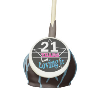 21 Legal and Loving it Cake Pops