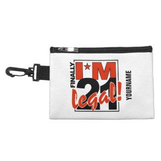 21 & LEGAL custom accessory bags