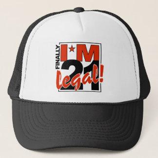 21 & LEGAL hat - choose color