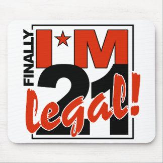 21 & LEGAL mousepad