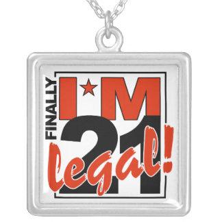21 LEGAL necklace
