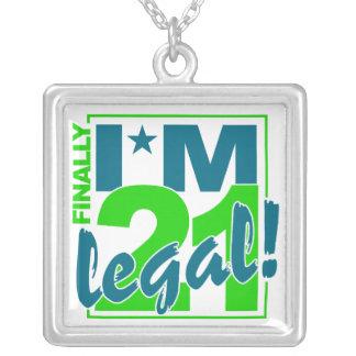 21 & LEGAL necklace