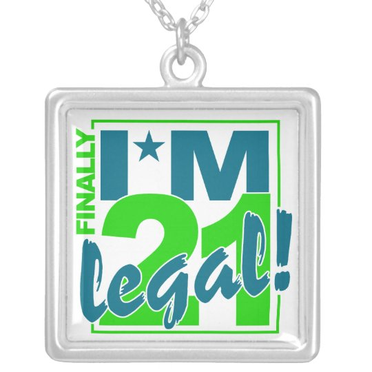 21 & LEGAL necklace