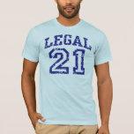 21 legales playera