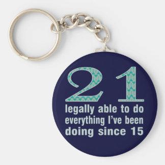 21/legalmente capaces de hacer… hacer desde 15 llavero redondo tipo pin