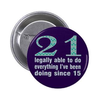 21/legalmente capaces de hacer… hacer desde 15 pin redondo 5 cm