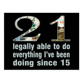 21/legalmente capaces de hacer… hacer desde 15 postales