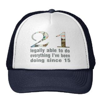 21/legalmente capaces de hacer… hacer desde 15 (Ve Gorras De Camionero