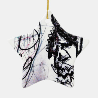 21 Minutes to Exhale 21 Years of Screaming Ceramic Ornament