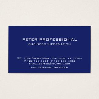 21 Modern Professional Business Card ultramarine