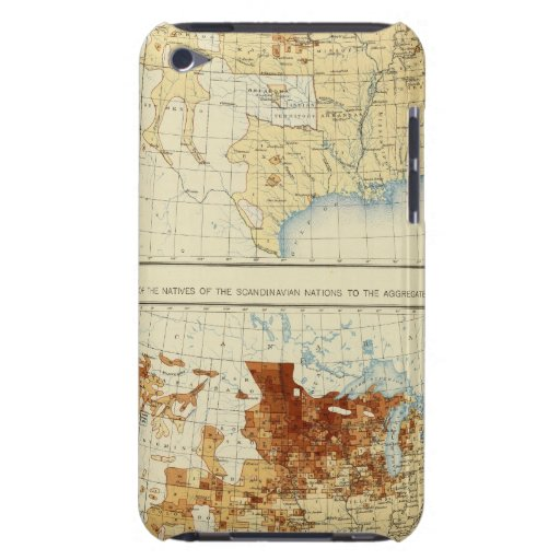 21 Natives of Scandinavian nations 1890 Barely There iPod Covers