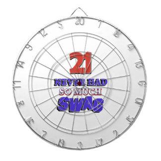 21 Never Had So Much Swag Designs Dartboard