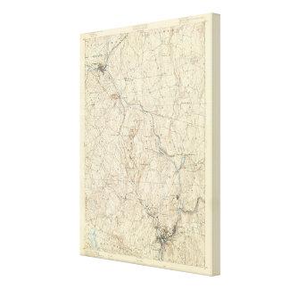 21 Norwich sheet Canvas Print