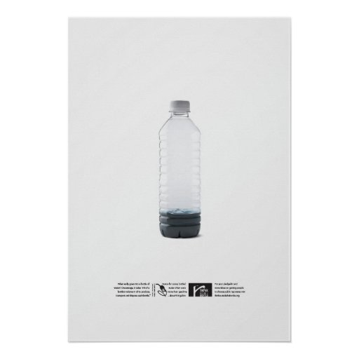 $21 Per Gallon - Think Outside the Bottle Poster