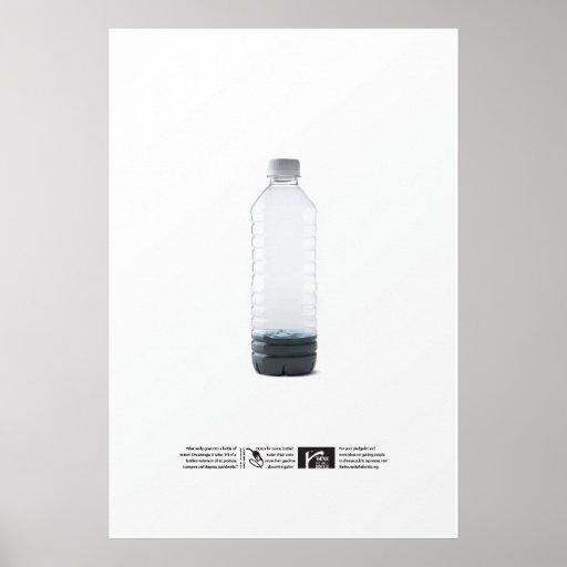 $21 por galón - piense fuera de la botella posters