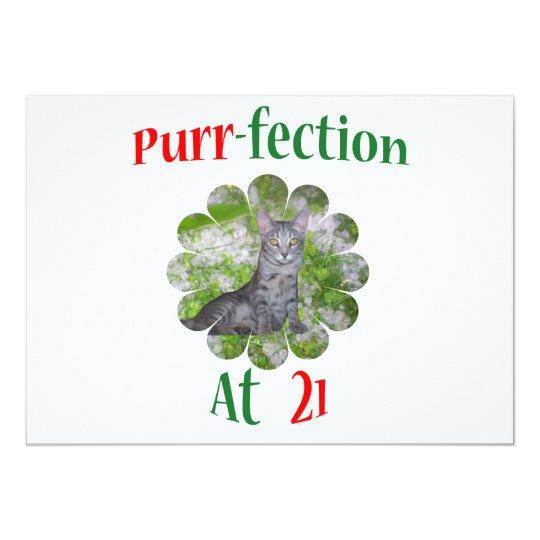 21 Purr-fection Card