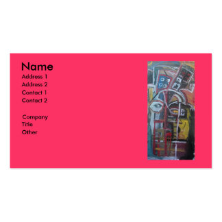 21 QUESTIONS BUSINESS CARD