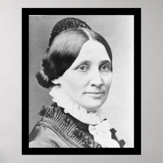 21 señora Rutherford B. Hayes Póster
