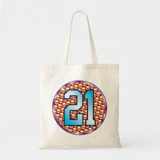21 Skulls Age Budget Tote Bag