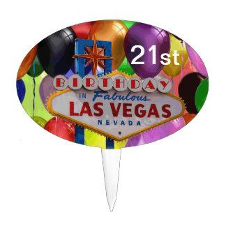 21 st Birthday In Las Vegas Cake Pick