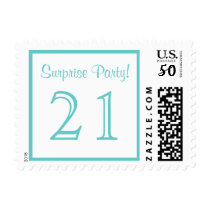 21 Surprise Party Postage