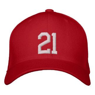 21 Twenty One Embroidered Baseball Cap