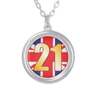 21 UK Gold Silver Plated Necklace